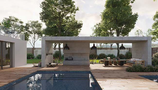 3D Visualisierung - Die Villa 2